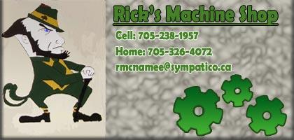 Rick MS Ad1 - Rick's Machine Shop