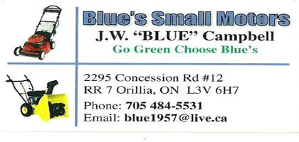 Blue's Small Motors