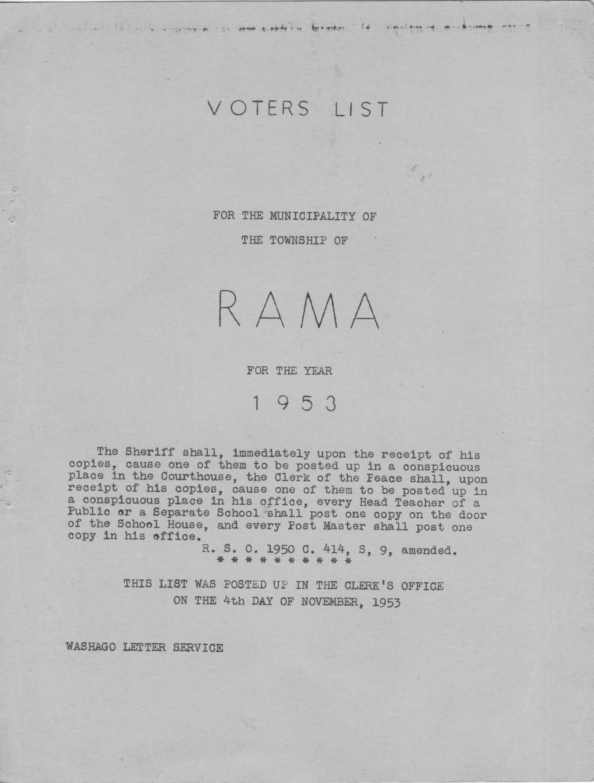 rama voters list ft 1 - rama voters list ft 1