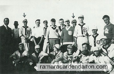 Tom Lambe 1922 Beaverton Team--1st Arrow