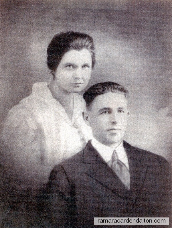 Frank Collins & Mary Jane Ferguson-Feb. 7, 1922
