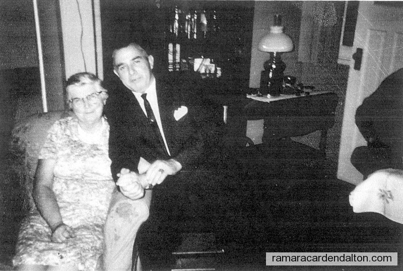 Frank Collins with his mother Mary Jane Collins