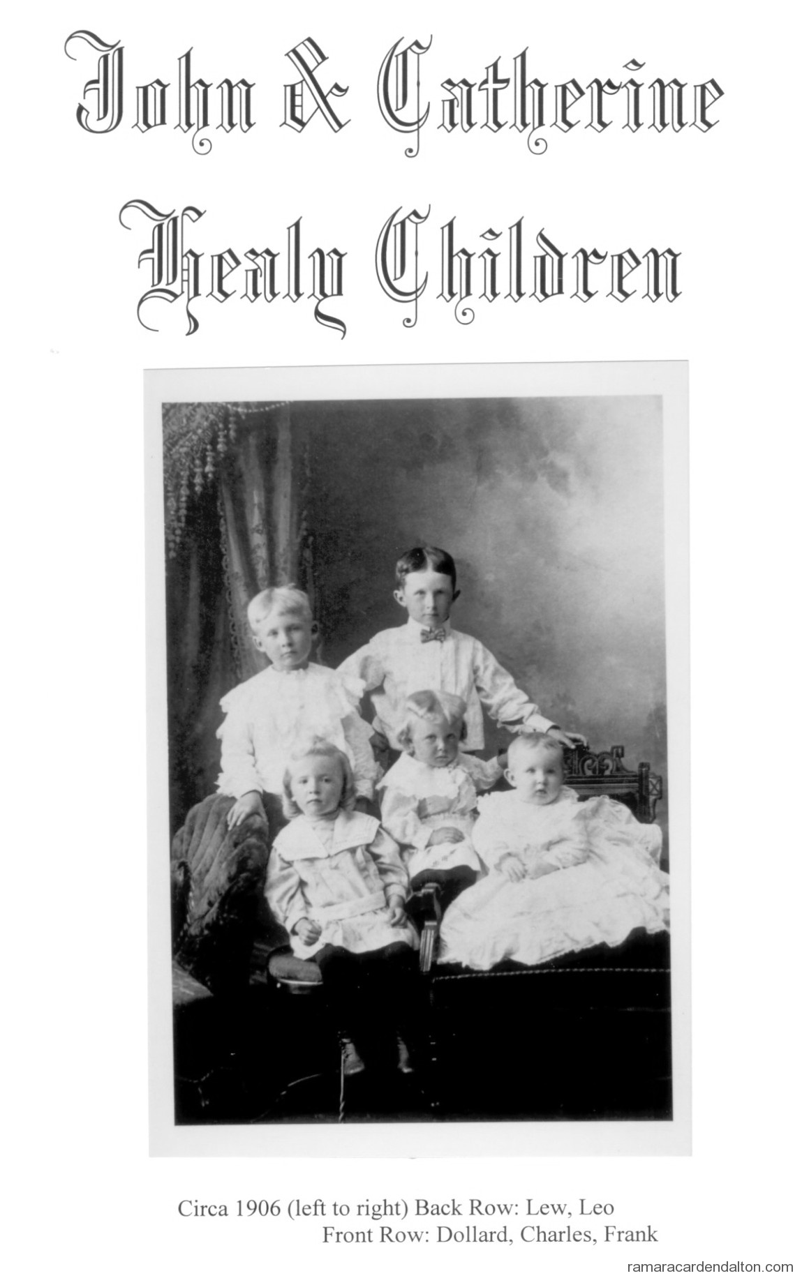 John & Catherine Healy Children