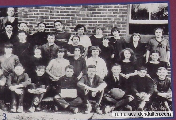 Foley 1924 Continuation Class