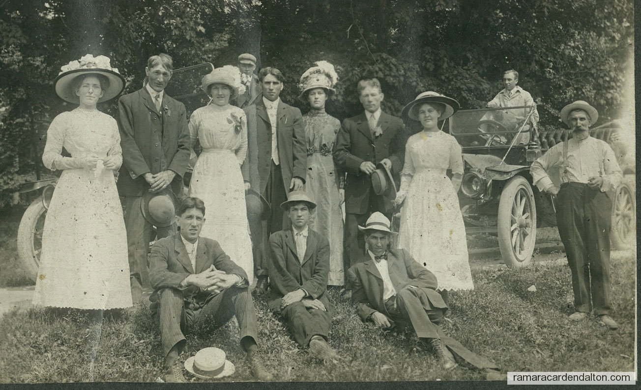 Michael EDWARD Mahoney & Ellen Eleanor 'NELLIE' Lawrence- Wedding, 1912