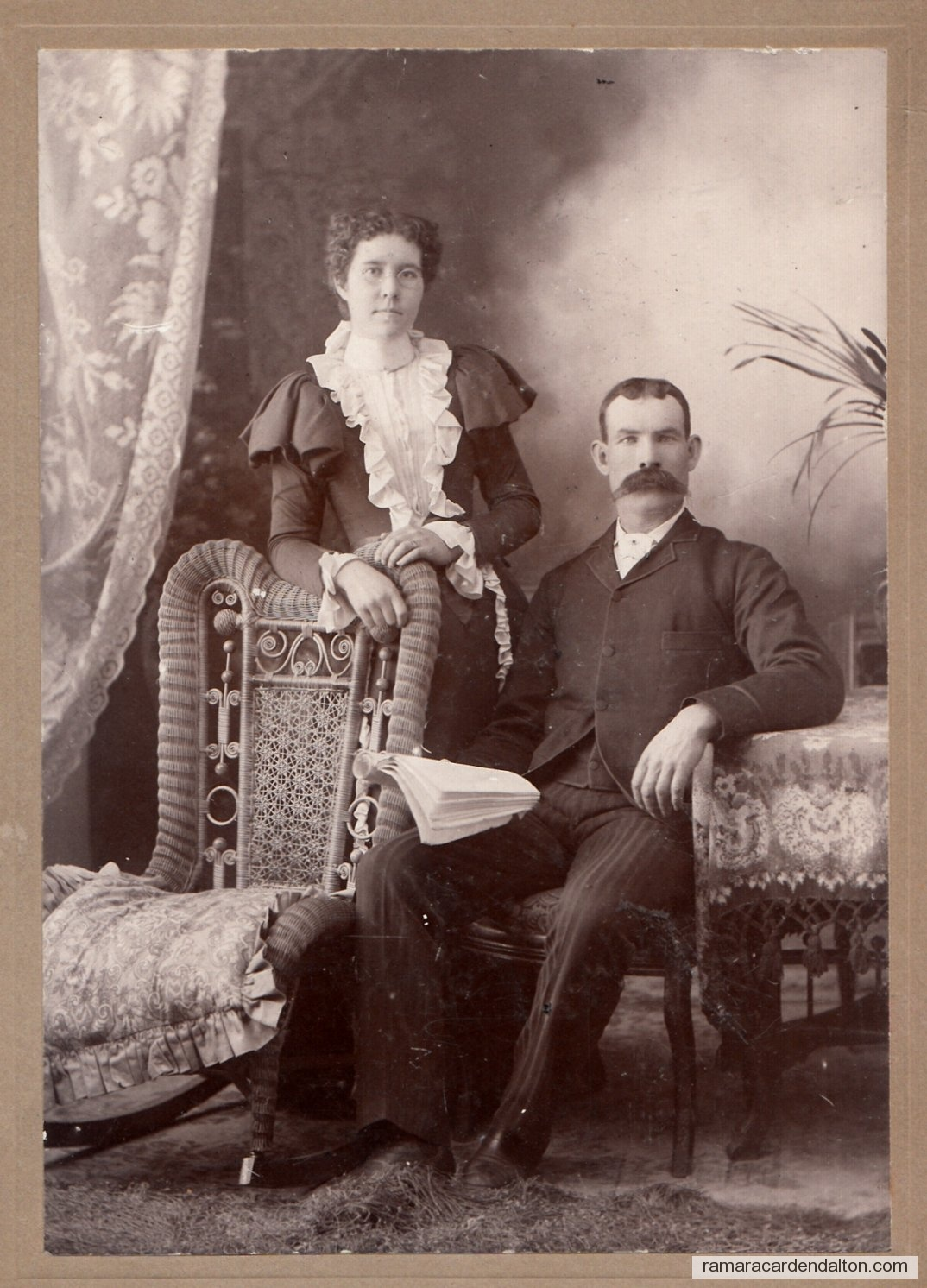 Murdock and Catherine MacKinnon --1897