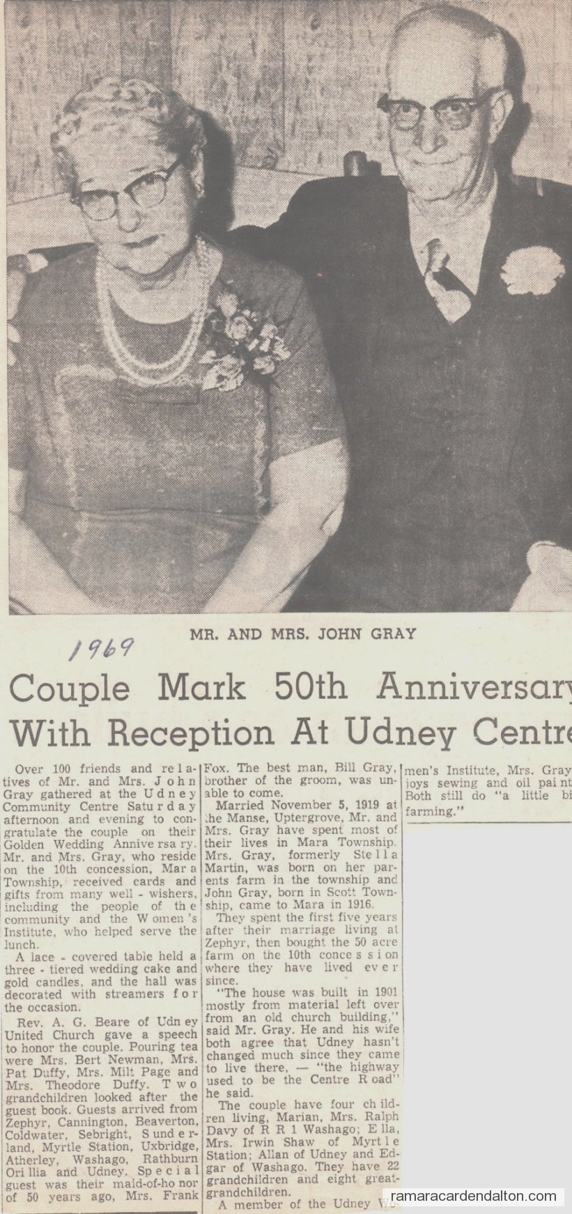 John Gray Anniversary