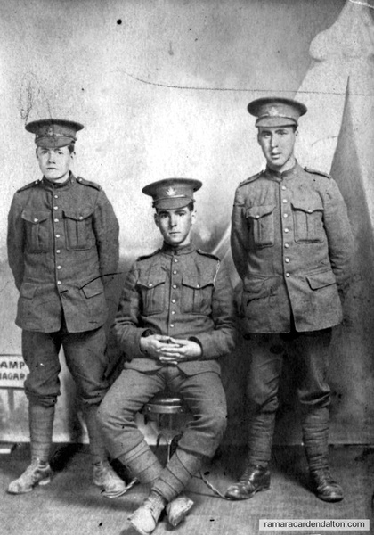 Tommy Carrick ,KiIA---Ernest Carrick--Died of wounds--Thomas Carrick--KIA-(cousin)