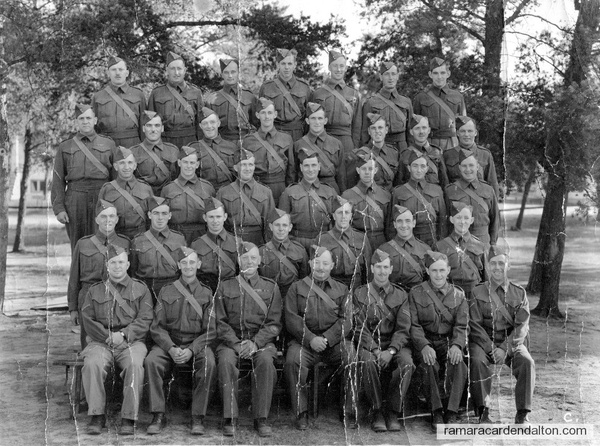 Joe Carrick-Battalion photo