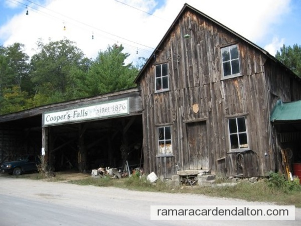 Cooper's implement shed