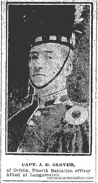 Captain John Donald Glover, M.I.D.