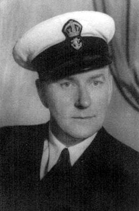 WW II Veteran Percy Hepinstall, a Chief Petty Officer, RCN