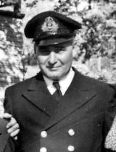 WW II Veteran Walker Joslin, Lieut Commander, RCNR