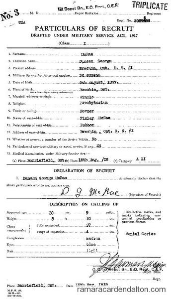 Duncan George McRae Draft Paper