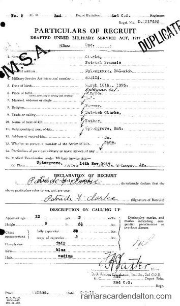 Patrick Francis Clarke Draft Paper