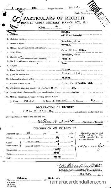 William Harold Smith Draft Paper