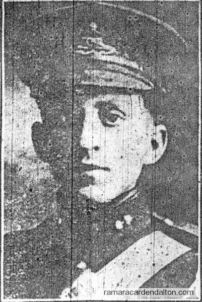 Gunner Lee Merkley, K.I.A.