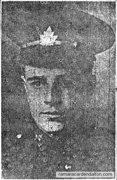 Private Hardy Alfred Smith, K.I.A.