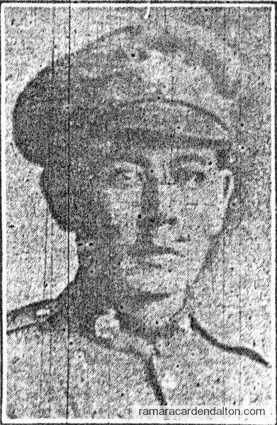 Private Ben Simcoe M.M.