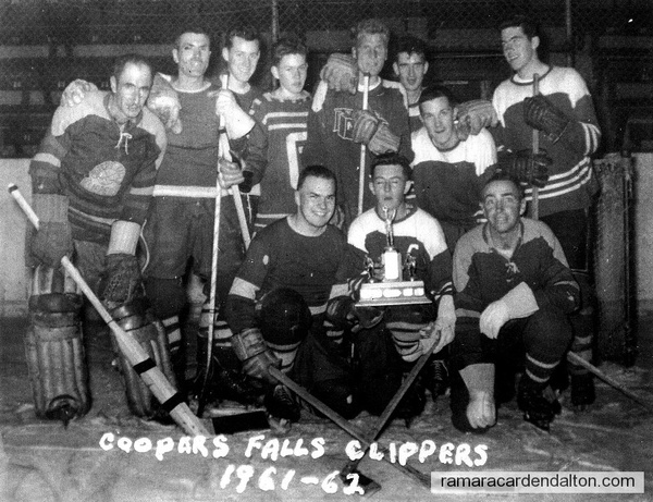 Cooper's Fall's Clippers-1961-62