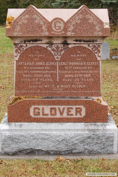 Capt. John Glover & Sergt. Norman Glover