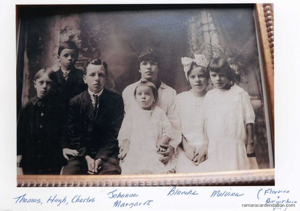 circa 1916- children of Hank and Josephine Corrigan-Washington State