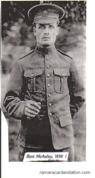 Sgt. Bert McAuley