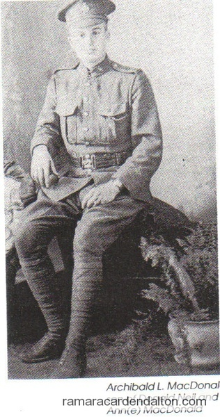 Pte. Archibald L. MacDonald, M.M.