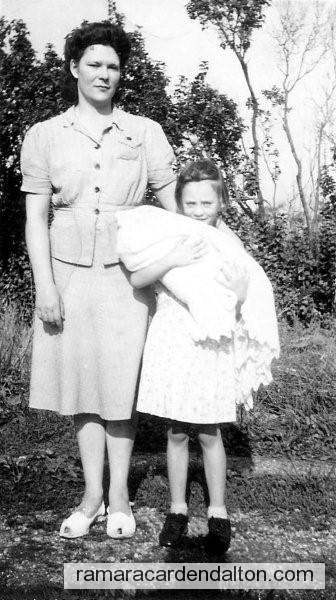 Marie(Clarke) Dolan, Gladys, and Stafford