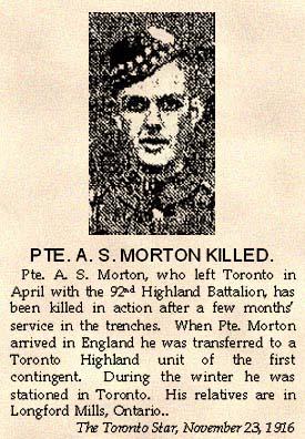 Pte. A.S. Morton