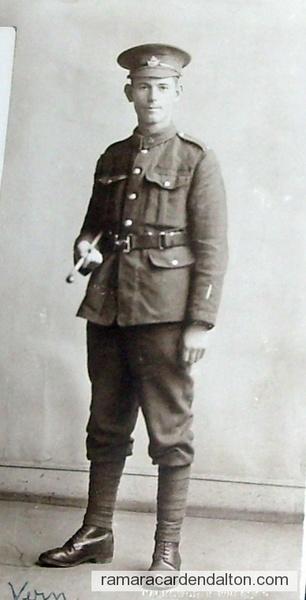 Vern Clarke WW1