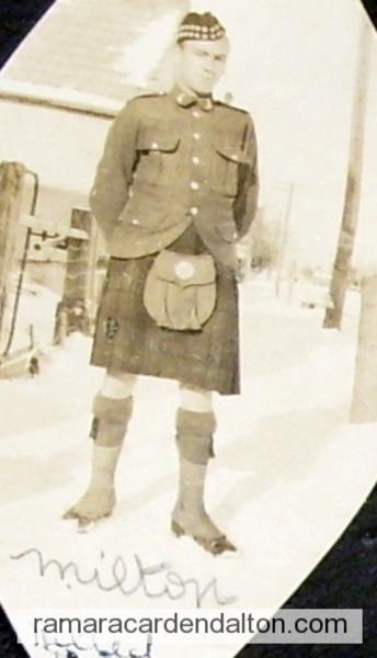 Milton Clarke--K.I.A. 1916
