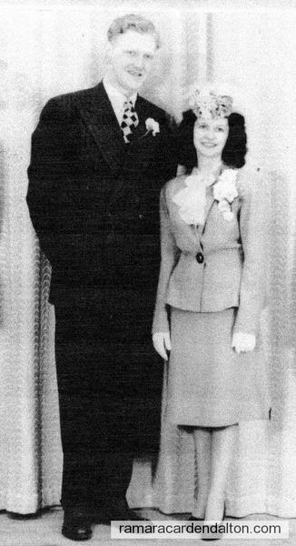 Cleve Clarke & Rita Collins-June 7, 1947