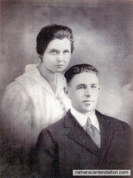 Frank Collins & Mary Jane Ferguson-Feb. 7, 1922
