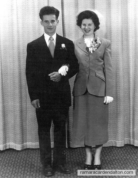 Raymond Arthur Marcotte & Patricia Sarah Collins