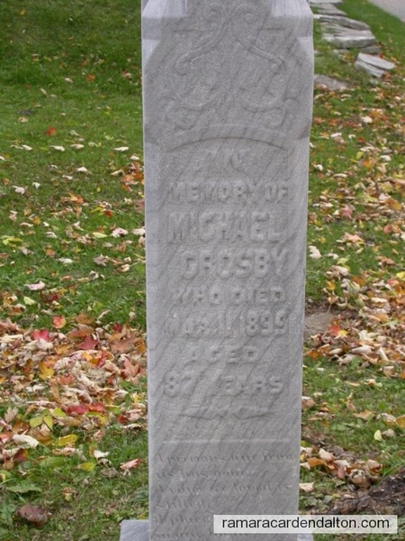 Michael Crosby  1812- 1899