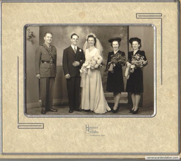 Ken Crosby Wedding- 1943