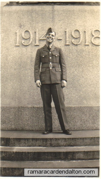 Ken Crosby- Air Force- WWII