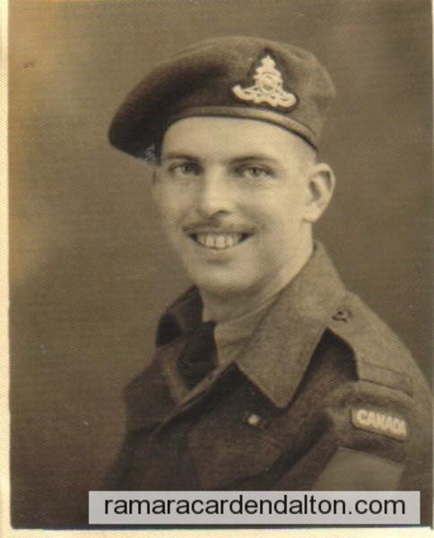 Kenneth James Crosby- WWII