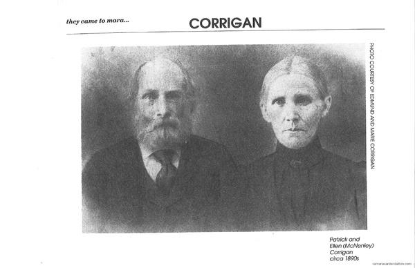 PATRICK CORRIGAN & ELLEN McNENLEY