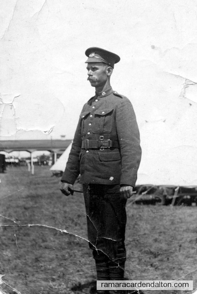 Prv. David Guthrie, no. 2398308, 4th Platoon, 16th Light Horse, Regina, Sask.