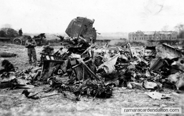 Downed German Plane