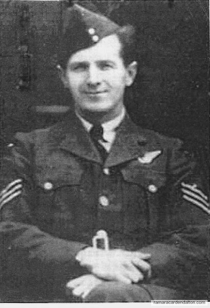 Flt. Sgt. Ross Maddaugh Agnew, K.I.A.