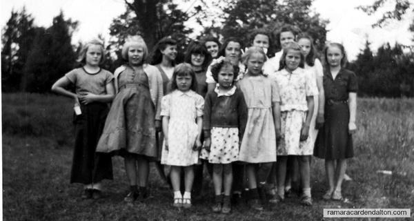 Black River SS#3 - Spring 1948 -Girls