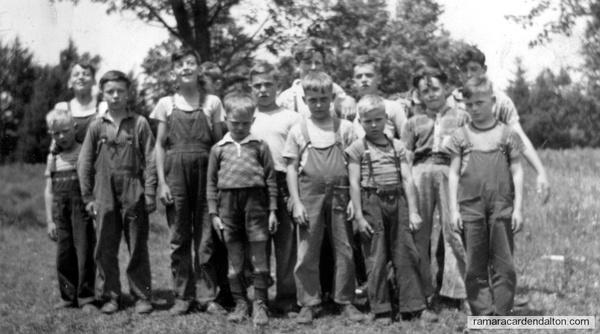 Black River SS#3 - Spring 1948 -Boys