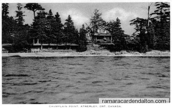 Champlain Point atherley JB c1937