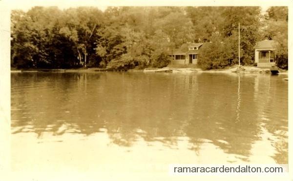Floral Park Silent Bay RPPC 1938