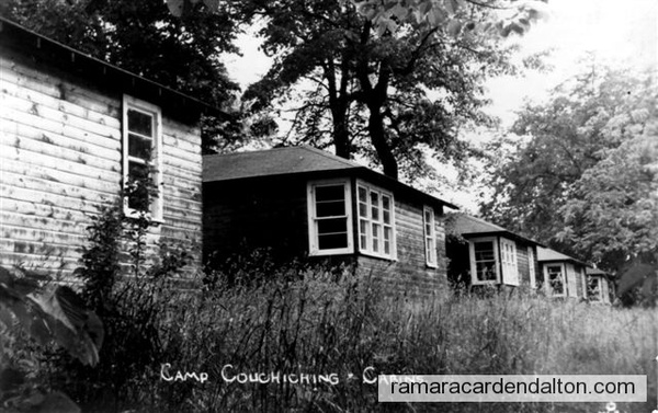Longford Camp Couchiching Cabins 1957