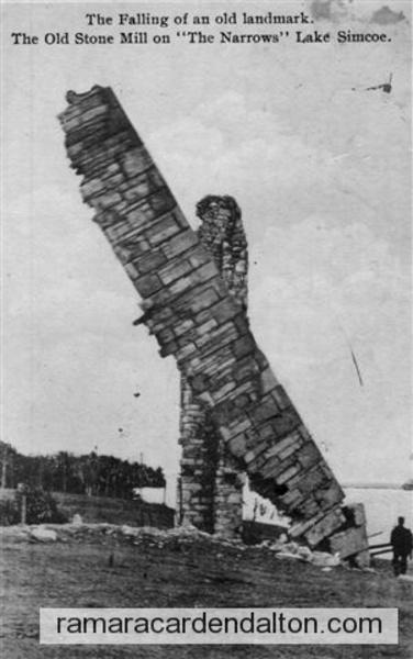 STONE MILL THE NARROWS ROS 1906