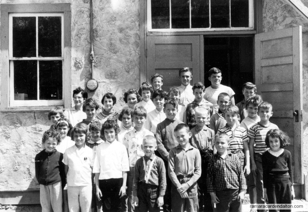 No. 6 Rama-Longford Mills-June 1964-Mrs. Jean Woods-Teacher